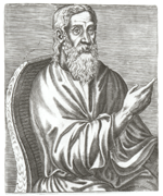 Clement of Alexandria (from André Thevet)